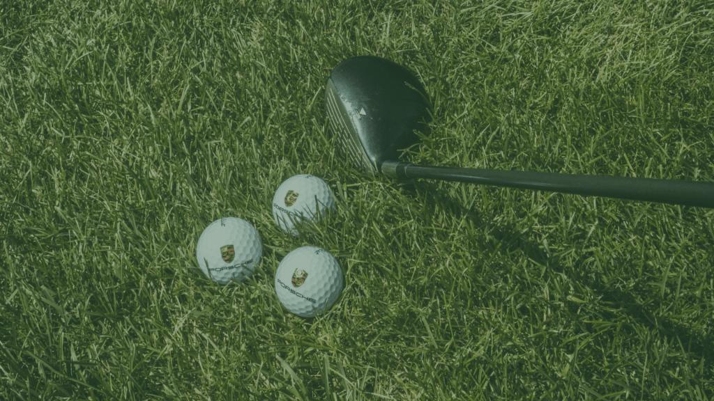 golf drivers & golf balls