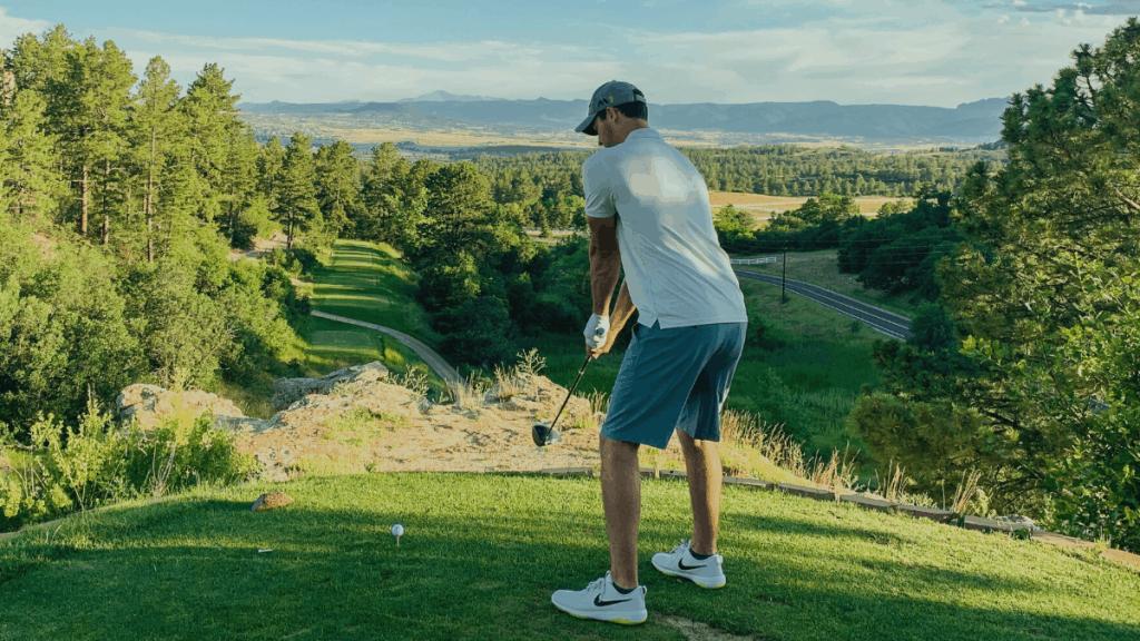 golfer setup