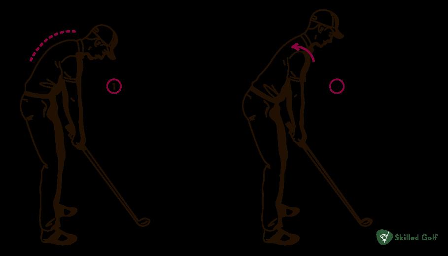 balance in golf