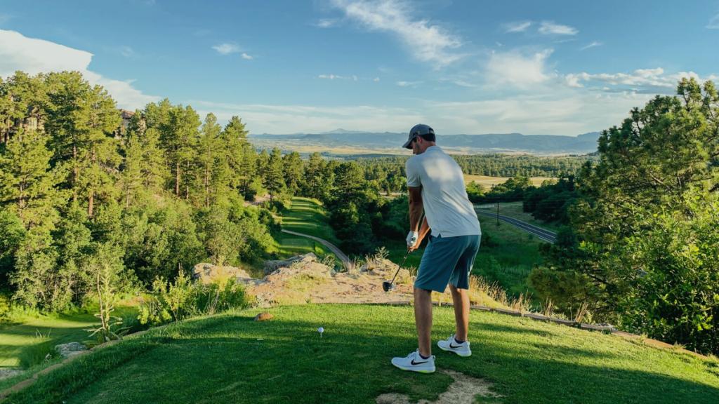 golfer stance